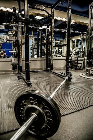 The Core: One of our multi-purpose squat racks