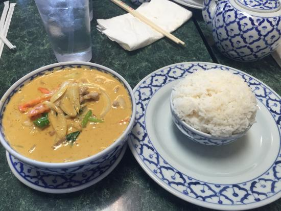 Thai Cafe: Yellow Curry with Pork...