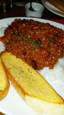 The Highlands Pub: Meaty chilli