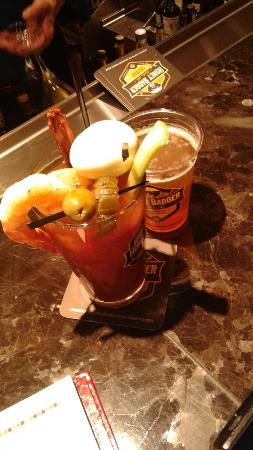 Chicago Marriott Lincolnshire Resort: Chefs Bloody Mary!!