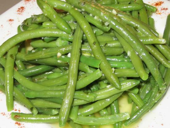 La Pignatelle : Tasty haricots vert