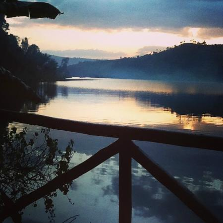 Bunyonyi Overland Resort: view from my tent