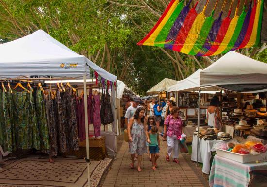Eumundi, Australia: Stalls