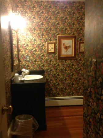 1740 House: Bathroom sink