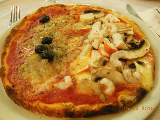 La Tana del Lupo : pizza siciliana / mare monti