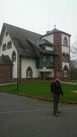 Nideggen, ألمانيا: Information at park nideggen