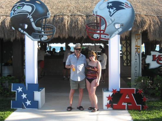 Superbowl Party Decorations Picture Of Secrets Silversands Riviera