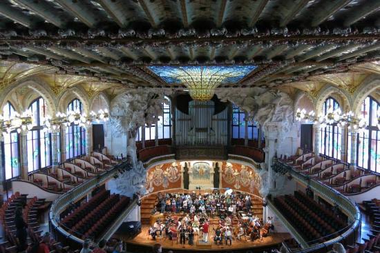DETALLE - Picture of Palau de la Musica Orfeo Catala ...