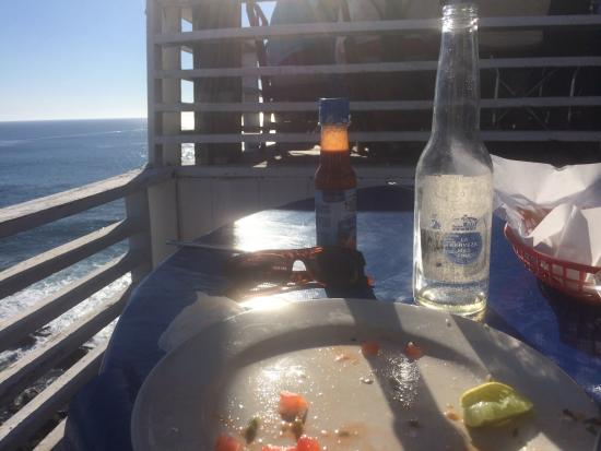 The Point at Calafia: I just wanted ceviche and beer... Too bad Calafia.