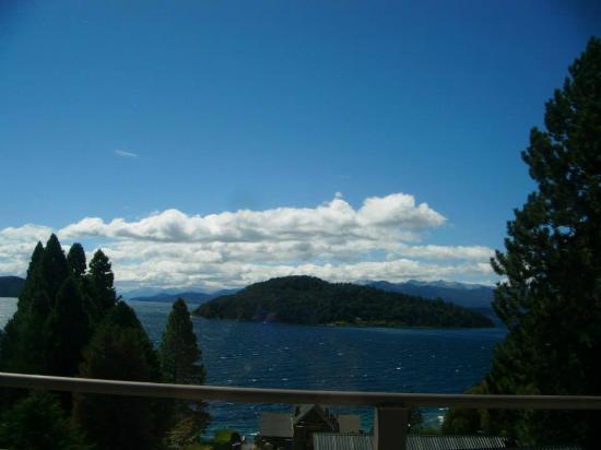 Altuen Hotel Suites&Spa: a diario esta era la vista increíble del lago