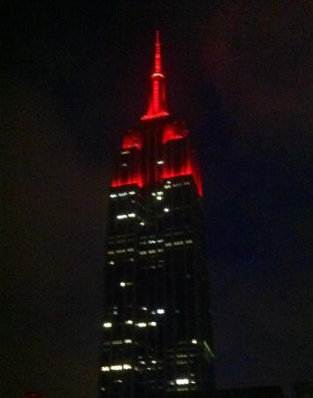 empire state building on valentine's day - picture of marriott, Ideas
