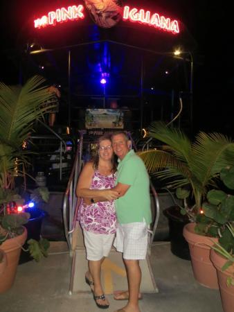 Simpson Bay, St. Maarten/St. Martin: Dessert at Pink Iguana