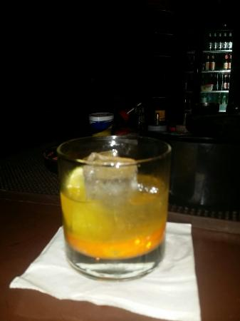Soho Wine & Martini Bar: Man of War is a delicious start up drink. 2oz bourbon fresh lime, orange and a splash of soda. S