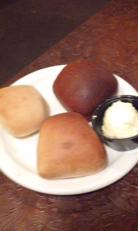 Atlanta, TX: this is the rolls we were served at silver spur