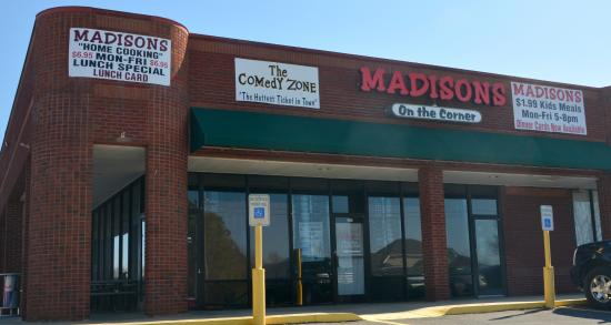 Madisons On The Corner
