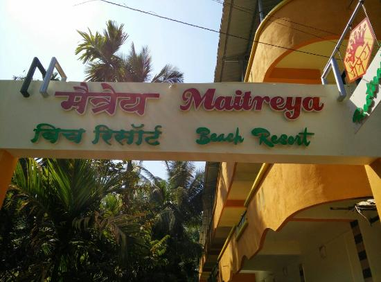 Front of hotel picture of maitreya beach resort - Resorts in diveagar with swimming pool ...