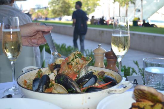 The Graze Bouillabaisse Seafood dish