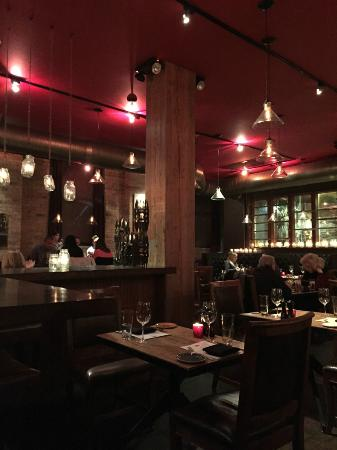 Smyth In The Iron Horse Hotel : The dining room
