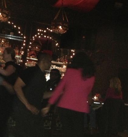 Taj: Dancing Salsa?