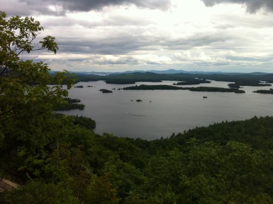 Rockywold-Deephaven Camps: View from Rattlesnake overlooking Squam Lake