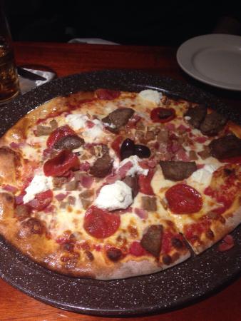 Lucky Bones: Italian stallion pizza