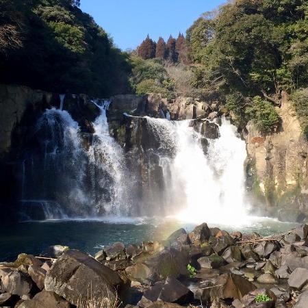Sekinoo Fall: 関之尾の滝