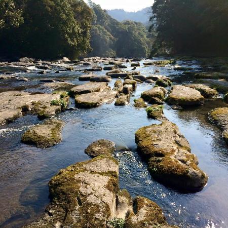 Sekinoo Fall: 甌穴群