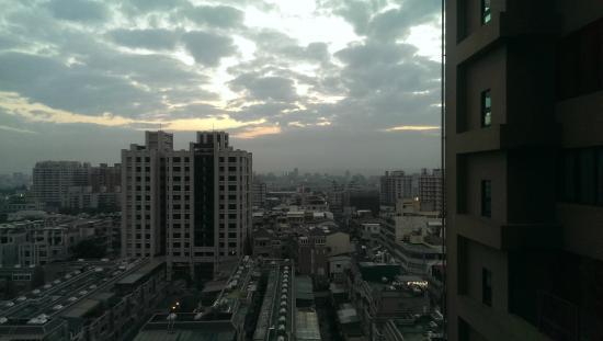 Maison de Chine Hotel Taichung: 落地窗外景觀