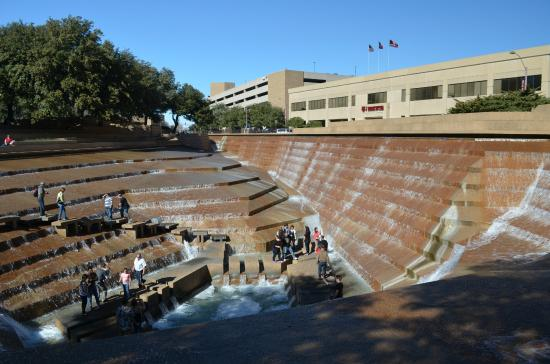 Fort Worth Water Gardens Picture Of Fort Worth Water Gardens Fort Worth Tripadvisor