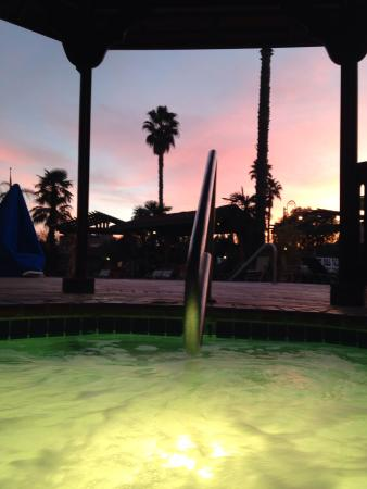 Adelaide Inn : View from jacuzzi