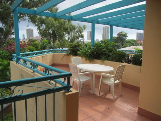 Paradise Isles : great balcony