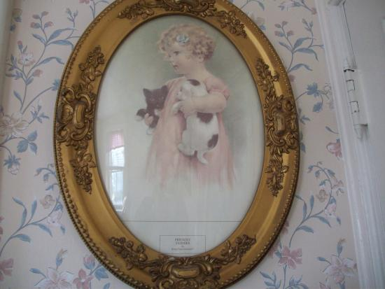Greystone Manor: A picture on wall of our sitting room