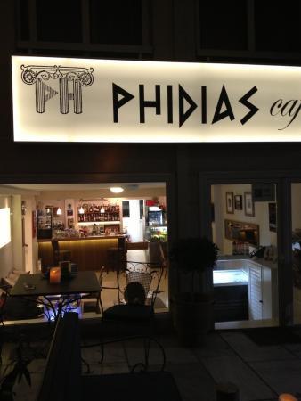 Hotel Phidias: Nice cafe