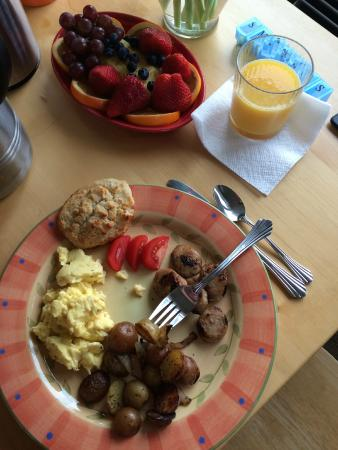 Hopewell Bed & Breakfast: Today's breakfast!