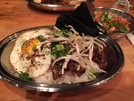 Spork: Korean BBQ rice bowl