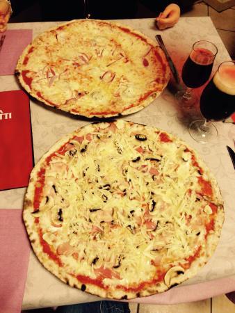 Pizzeria Ristorante La Rosa Blu: Marsigliese e Pastorella
