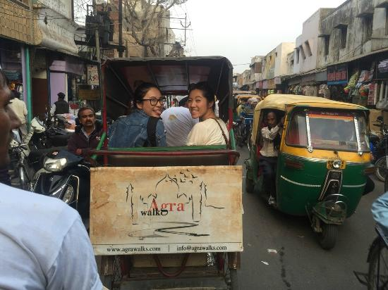 Agra Walks: Happy Guests Incorporated
