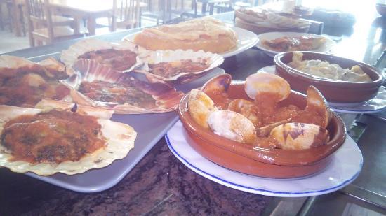 Muxia, Espanha: Breakfast peregrino
