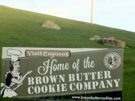 Brown Butter Cookie Company, Cayucos, Ca