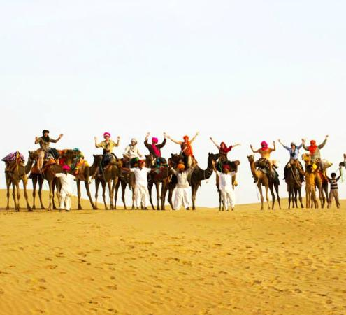 Trotters Tours & Travels Camel Safari