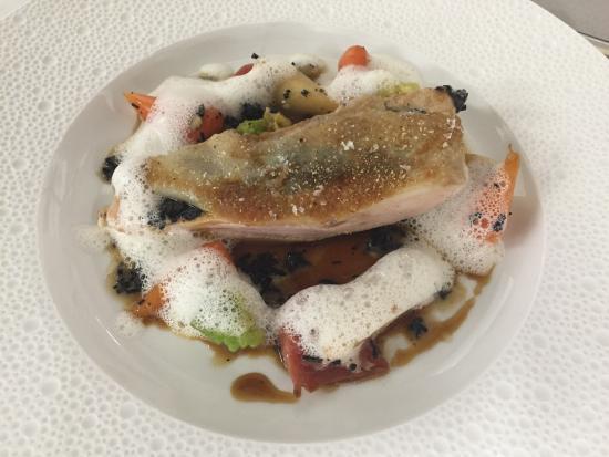 Domaine du Colombier Restaurant : Blanc de volaille truffe