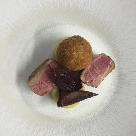 Domaine du Colombier Restaurant : Agneau
