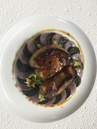 Domaine du Colombier Restaurant : Pomme de terre truffe foie gras