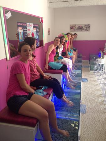 Instant Fish Spa