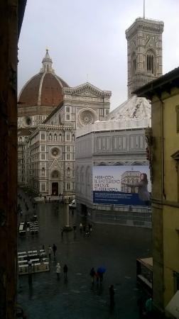 Hotel San Giovanni: Vista dalla finestra dell hotel