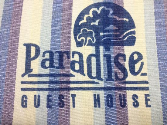 Paradise Guest House: Like Paradise..