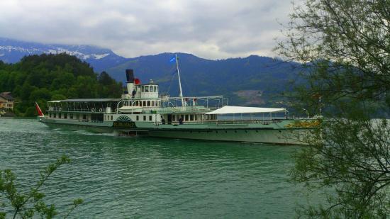 Dampfschiff Blumlisalp: Thun - Dampfschiff Blümlisalp auf dem Thunersee