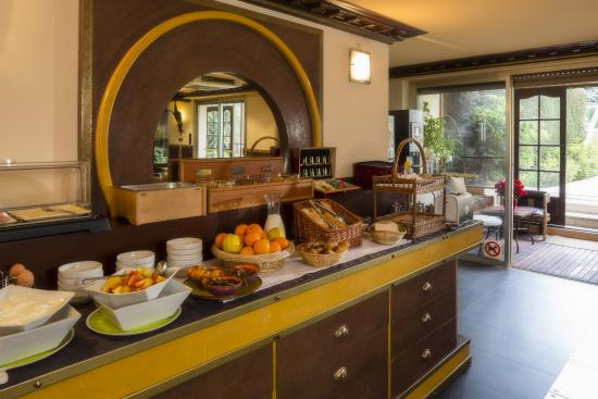 Hotel Spa Beau Sejour: petit dejeuner buffet