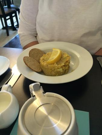 The Imperial, Plymouth: Oat cakes and kedgeree
