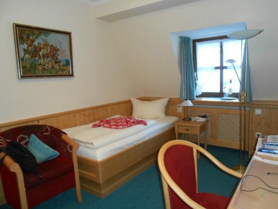 Hotel Klosterhotel Ludwig der Bayer: My single room